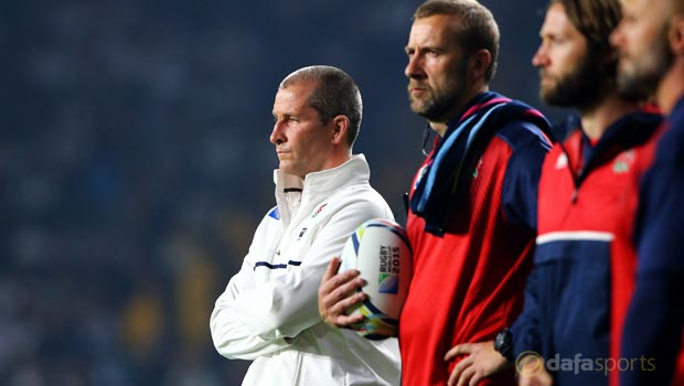 Rugby World Cup 2015  England head coach Stuart Lancaster