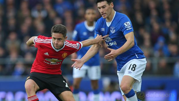 Everton 0-3 Man United midfielder Ander Herrera