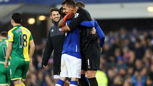 Everton v Norwich City Capital One Cup