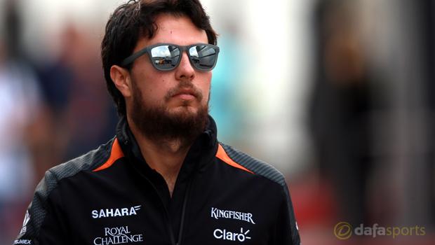 Force India Sergio Perez F1
