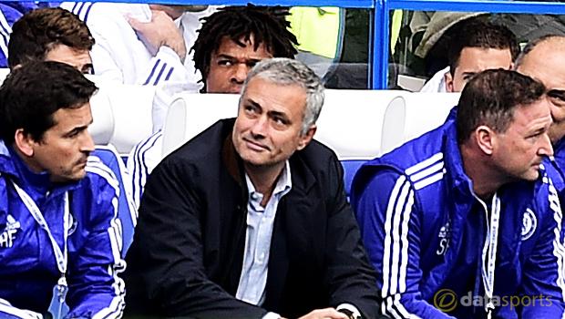 Jose Mourinho Chelsea v Aston Villa