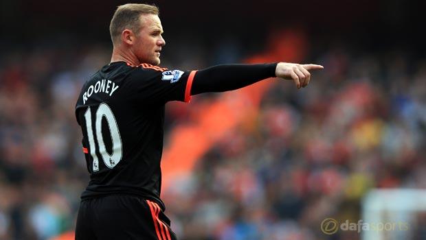 Manchester United Wayne Rooney Premier League