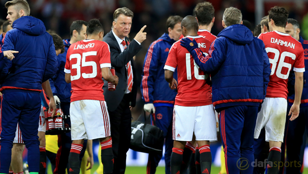 Manchester United manager Louis van Gaal Capital One Cup