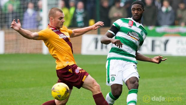 Motherwell v Celtic Tyler Blackett
