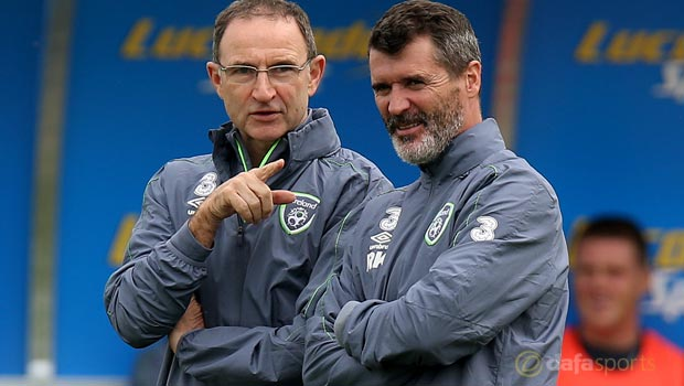 Republic of Ireland Martin ONeill and Roy Keane Euro 2016
