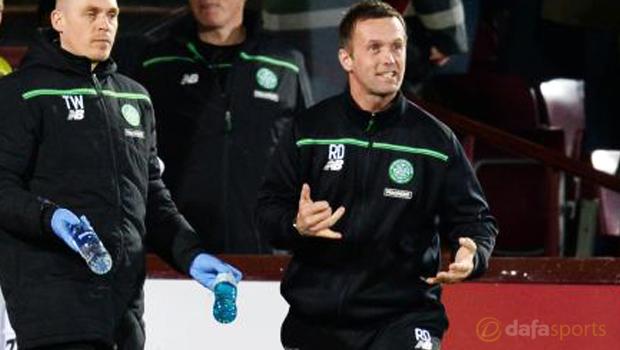 Ronny Delia Celtic v Hearts