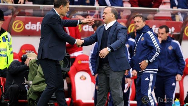 Sunderland v West Ham United Dick Advocaat