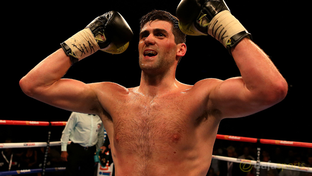 Super-middleweight Rocky Fielding Boxing
