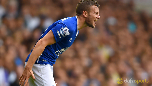 Tom Cleverley back on Everton