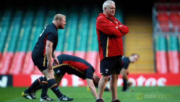 Wales head coach Warren Rugby World Cup 2015