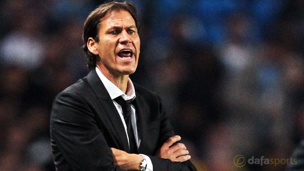AS Roma manager Rudi Garcia
