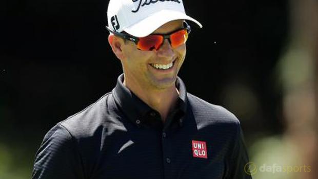 Australian Open Adam Scott