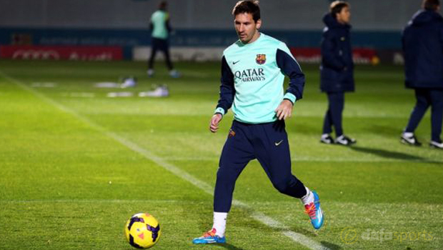 Barcelona upbeat on Lionel Messi recovery