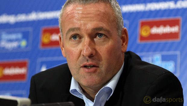 Blackburn Rovers new manager Paul Lambert