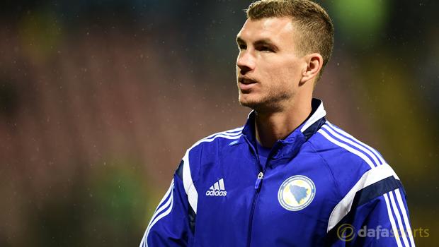 Bosnia and Herzegovina Edin Dzeko Euro 2016
