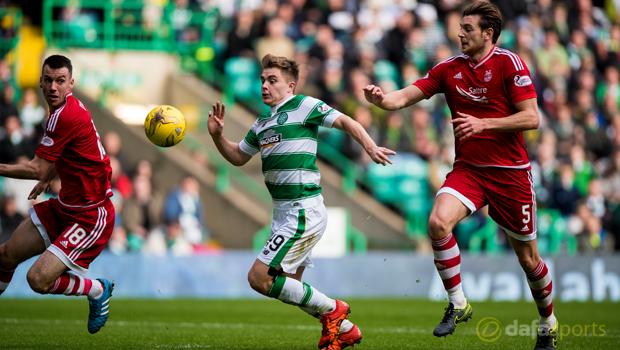 Celtic v Aberdeen James Forrest