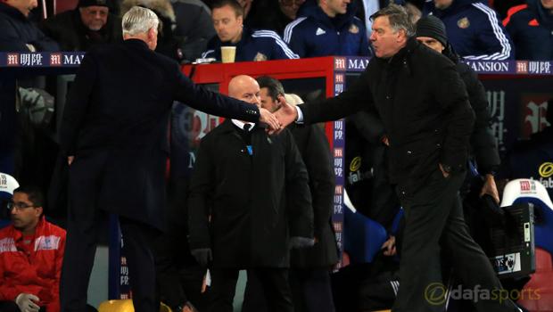 Crystal Palace v Sunderland Sam Allardyce