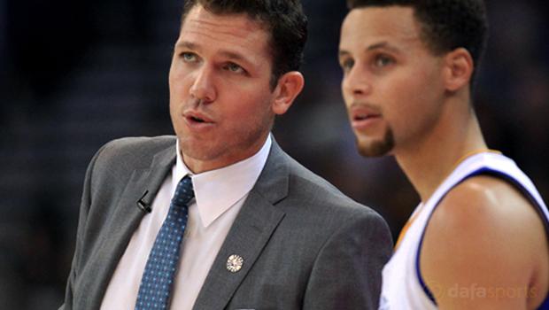 Golden State Warriors Interim head coach Luke Walton NBA