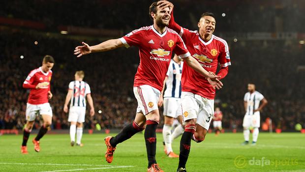 Juan Mata Manchester United v West Bromwich Albion