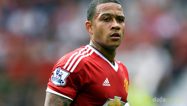 Memphis Depay Manchester United player