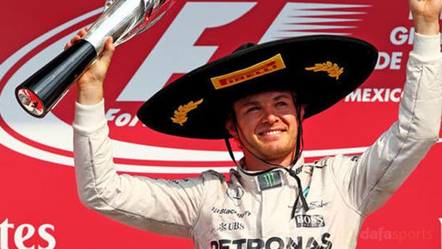 Mercedes Nico Rosberg Mexican GP F1
