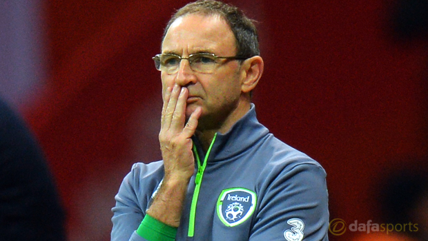 Republic of Ireland boss Martin ONeill