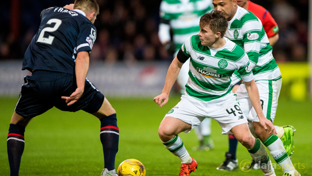 Ross County v Celtic James Forrest
