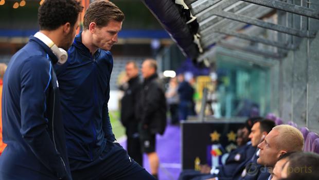 Tottenham Hotspur Jan Vertonghen