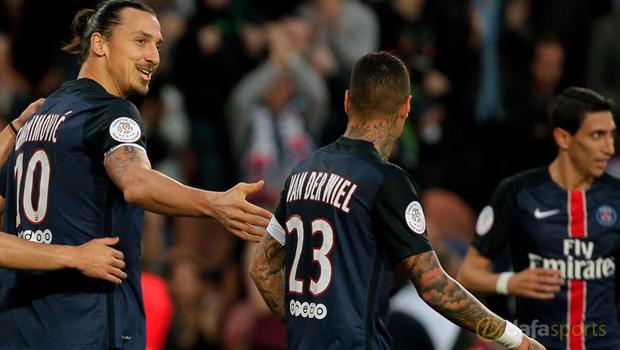 Zlatan Ibrahimovic PSG Ligue 1