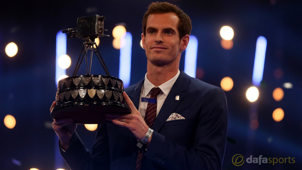 2015 Sports Personality of the Year Andy Murray