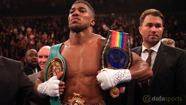 Anthony Joshua Boxing British heavyweight champion