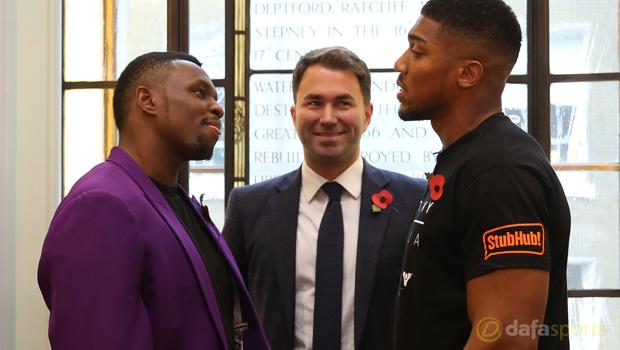 Anthony Joshua and Dillian Boxing