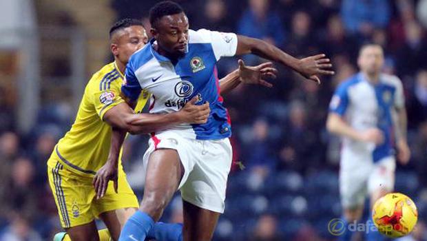 Blackburn Rovers forward Fode Koita