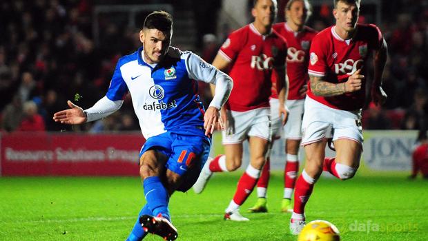 Bristol City v Blackburn Rovers Ben Marshall
