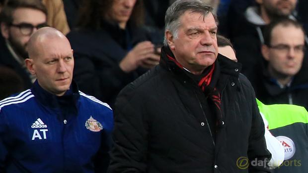Chelsea v Sunderland manager Sam Allardyce