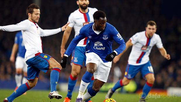 Crystal Palace v Everton Romelu Lukaku