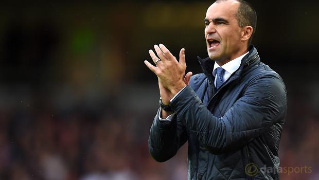 Everton boss Roberto Martinez Capital One Cup