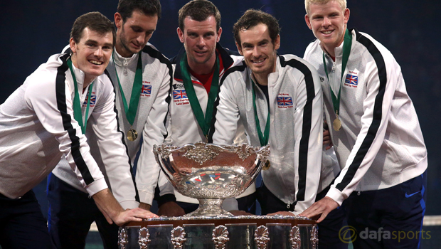Great Britain wins Davis Cup final 2015