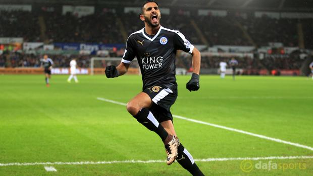 Leicester City Riyad Mahrez