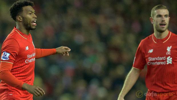 Liverpool Jordan Henderson and Daniel Sturridge