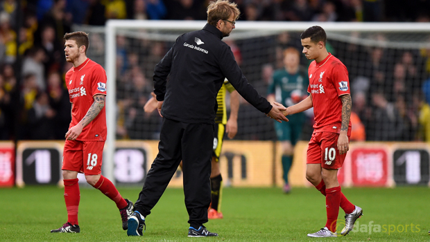 Liverpool attacking midfielder Philippe Coutinho
