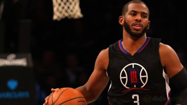 Los Angeles Clippers Chris Paul NBA