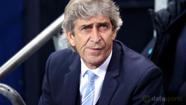 Man City manager Manuel Pellegrini Capital One Cup