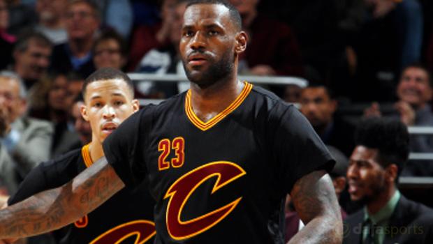 NBA Cleveland Cavaliers v Portland Trailblazers LeBron James