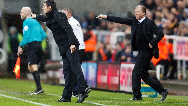 Newcastle v Aston Villa Remi Garde