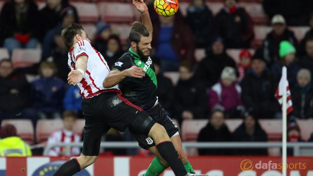 Stoke City v Sunderland Sebastian Coates