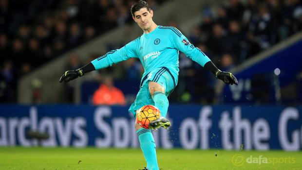 Sunderland v Chelsea goalkeeper Thibaut Courtois