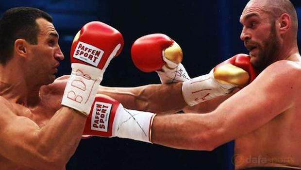 Tyson Fury vs Wladimir Klitschko Boxing Heavyweight Championship