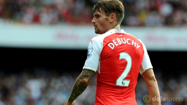 Arsenal Mathieu Debuchy to Aston Villa