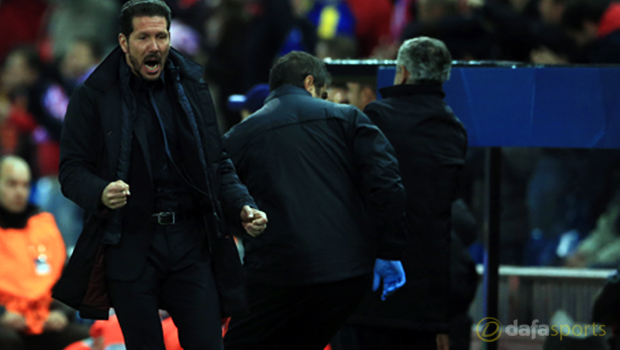 Atletico Madrid Head Coach Diego Simeone